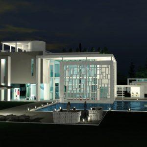 francesco visalli inside mondriaan Sculpture House 5 notte piet mondrian
