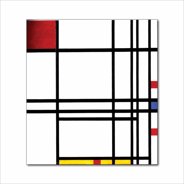 francesco visalli inside mondriaan project cover 40 piet mondrian