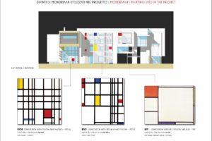 francesco visalli inside mondriaan HOUSE FOR ARTIST opere utilizzate piet mondrian