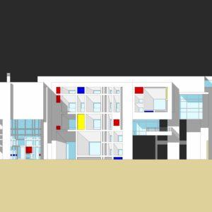francesco visalli inside mondriaan HOUSE FOR ARTIST v house cover piet mondrian