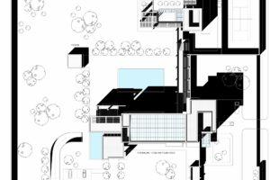 francesco visalli inside mondriaan v house Roof Plan piet mondrian