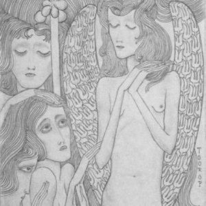 francesco visalli jan toorop project Illustrazione original drawing jan toorop
