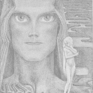 francesco visalli jan toorop project Psyche original drawing jan toorop