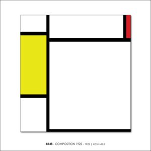MONDRIAN B148 COMPOSITION 1922 1922 v2FRANCESCO VISALLI