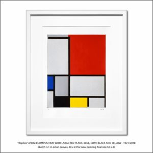 The Disappeared Mondrians Sketches Gallery11 Francesco Visalli Piet Mondrian