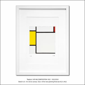 The Disappeared Mondrians Sketches Gallery12 Francesco Visalli Piet Mondrian