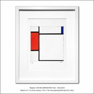The Disappeared Mondrians Sketches Gallery14 Francesco Visalli Piet Mondrian