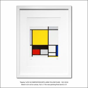 The Disappeared Mondrians Sketches Gallery1 Francesco Visalli Piet Mondrian