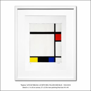 The Disappeared Mondrians Sketches Gallery21 Francesco Visalli Piet Mondrian