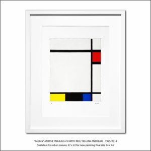 The Disappeared Mondrians Sketches Gallery22 Francesco Visalli Piet Mondrian