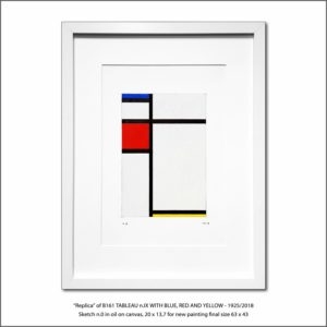 The Disappeared Mondrians Sketches Gallery25 Francesco Visalli Piet Mondrian