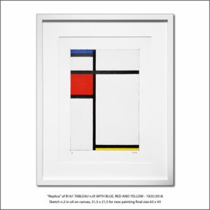 The Disappeared Mondrians Sketches Gallery27 Francesco Visalli Piet Mondrian
