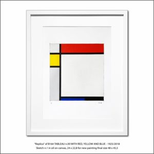 The Disappeared Mondrians Sketches Gallery29 Francesco Visalli Piet Mondrian