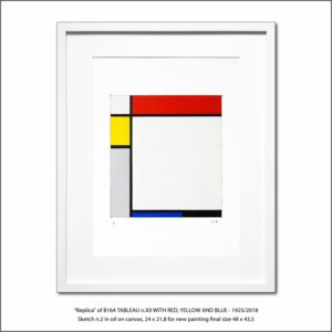 The Disappeared Mondrians Sketches Gallery30 Francesco Visalli Piet Mondrian