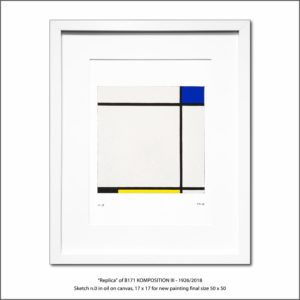 The Disappeared Mondrians Sketches Gallery34 Francesco Visalli Piet Mondrian