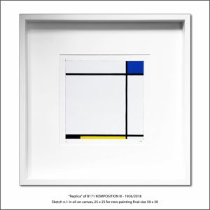 The Disappeared Mondrians Sketches Gallery35 Francesco Visalli Piet Mondrian