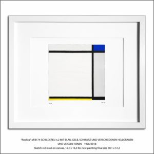 The Disappeared Mondrians Sketches Gallery36 Francesco Visalli Piet Mondrian