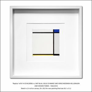 The Disappeared Mondrians Sketches Gallery37 Francesco Visalli Piet Mondrian
