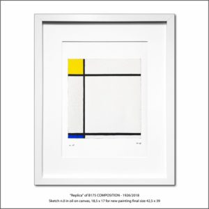 The Disappeared Mondrians Sketches Gallery38 Francesco Visalli Piet Mondrian