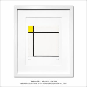 The Disappeared Mondrians Sketches Gallery41 Francesco Visalli Piet Mondrian