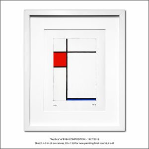 The Disappeared Mondrians Sketches Gallery46 Francesco Visalli Piet Mondrian