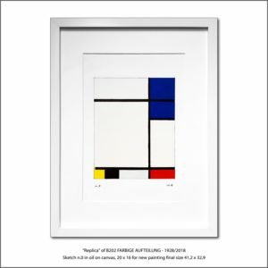 The Disappeared Mondrians Sketches Gallery48 Francesco Visalli Piet Mondrian