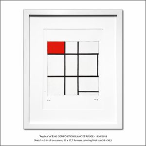 The Disappeared Mondrians Sketches Gallery52 Francesco Visalli Piet Mondrian