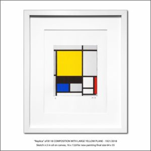 The Disappeared Mondrians Sketches Gallery5 Francesco Visalli Piet Mondrian