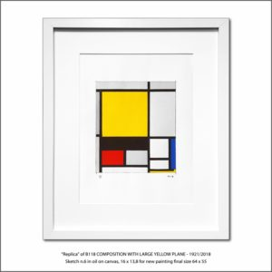 The Disappeared Mondrians Sketches Gallery6 Francesco Visalli Piet Mondrian