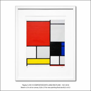 The Disappeared Mondrians Sketches Gallery9 Francesco Visalli Piet Mondrian
