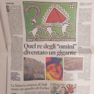 02 Keith Haring messaggero 1