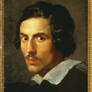 04 Gian Lorenzo Bernini Autoritratto giovanile 1623 ca. Galleria Borghese Roma
