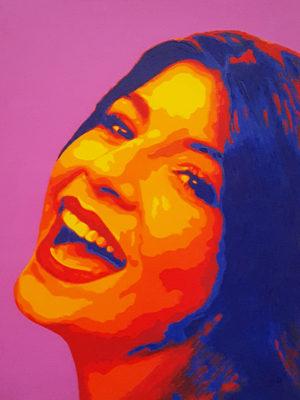 05 1 Chiara Pop Portrait 1 olio su tela 40x30 2020