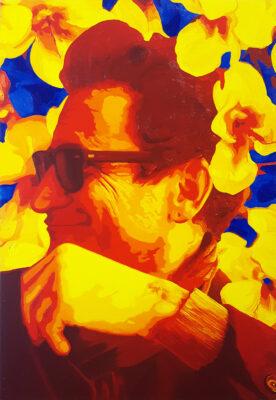 24 Pier Luigi Manieri Pop Portrait olio su tela 55x38 2020