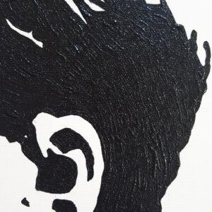 31 Friedrich Nietzsche Pop Portrait 1 detail B