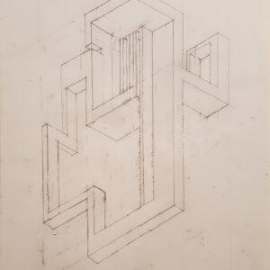 73 bozzetto 4 matita su carta 42x30