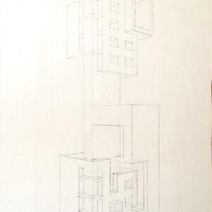 79 disegno finale su tela 120x45